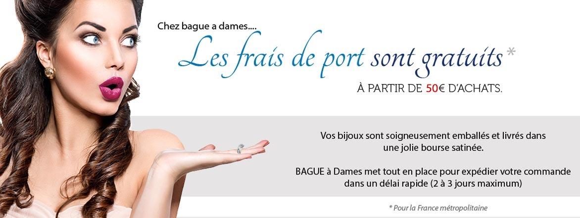 port offert bijouterie bague a dames