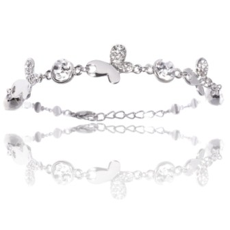 Bracelet Le Monarque Argenté