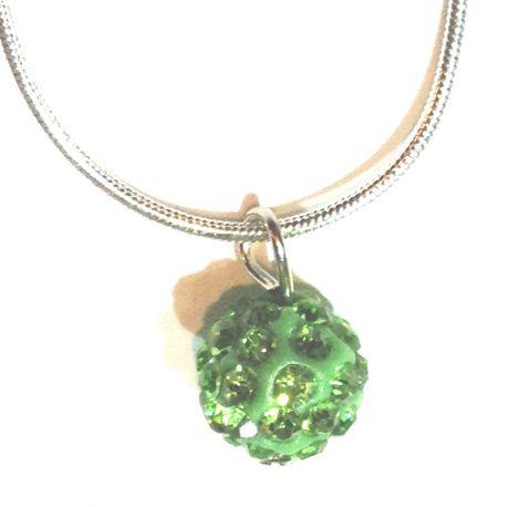 Collier Le Facétieux Vert