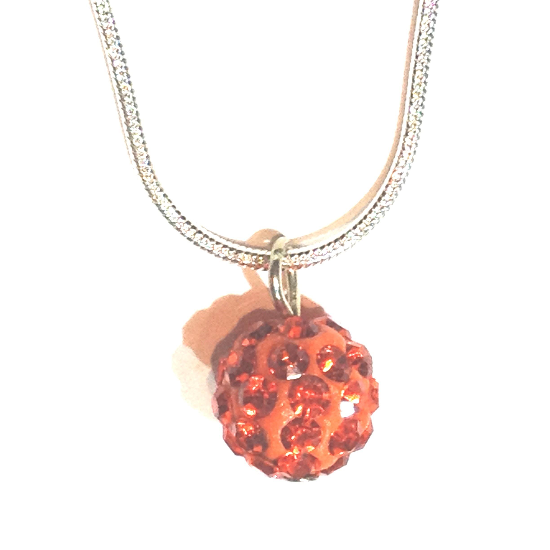 Collier Le Facetieux orange