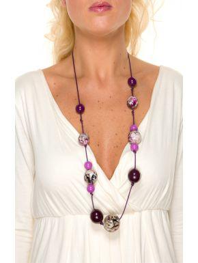 Collier Le Tropical Violet