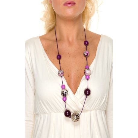 Collier Le Tropical Violet
