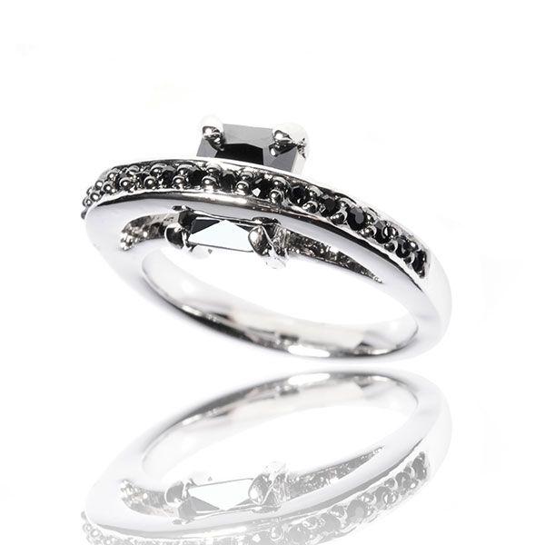 Ring L'Affectueuse Noire