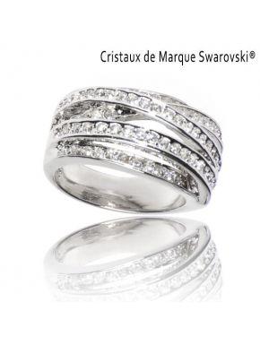 Ring L'Illuminée Swarovski Crystals