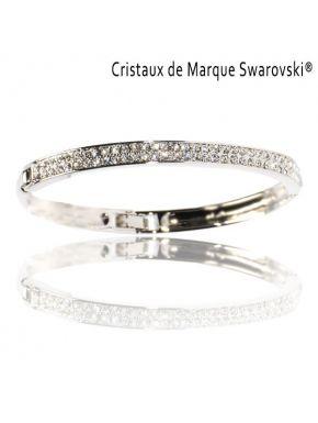 Bracelet Le M'as-tu vu avec Cristaux Swarovski