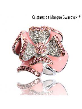 Ring La Primerose Swarovski Crystals