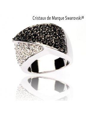 Bague L'Elegante Cristaux Swarovski