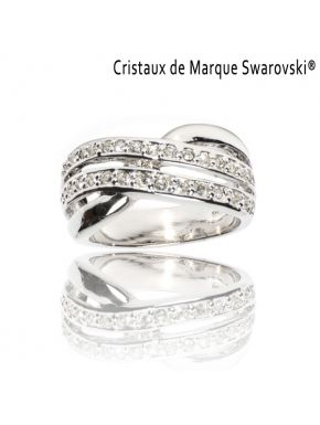 Ring La Distinguée Swarovski Crystals