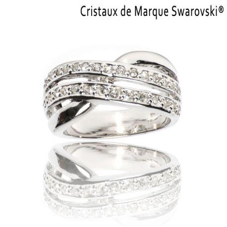 Ring La Distinguée Swarovski Crystals