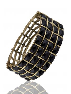 Bracelet L'Aquarelle Noire