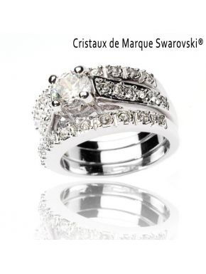 Ring La Nudiste Swarovski Crystals
