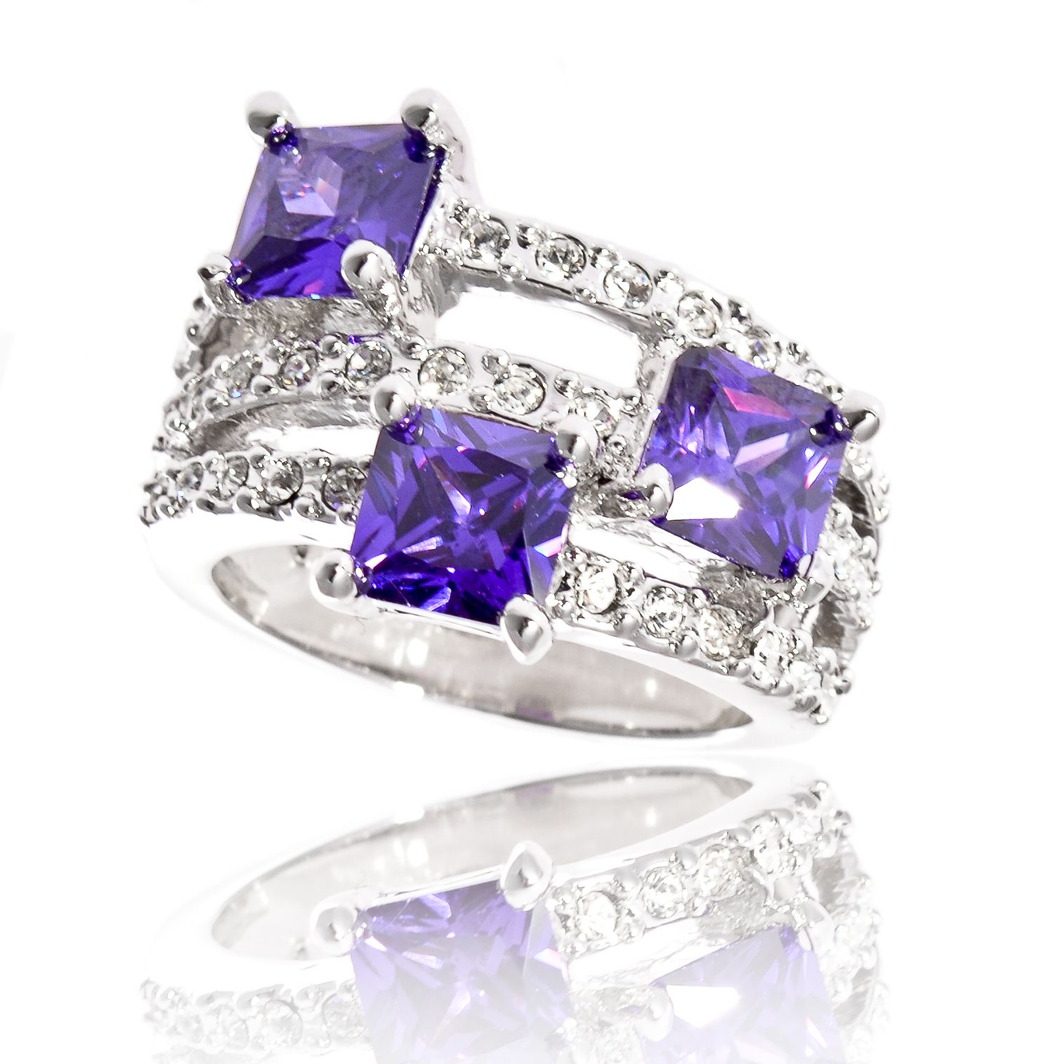 Bague La Tourterelle Violette