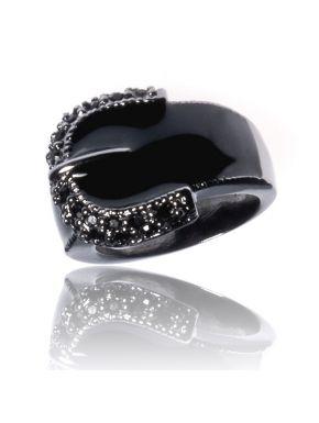 Bague La Ceinturée Noire