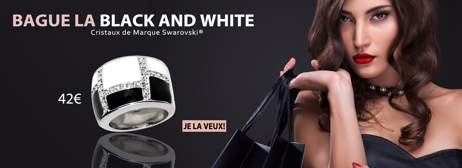 bague la black and white